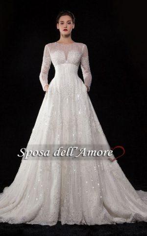 rochie de mireasa printesa sposa 1520