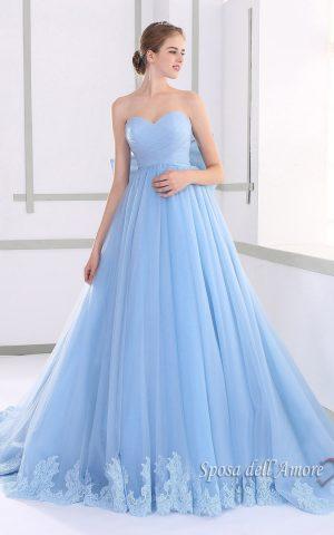 rochie de mireasa roz JUL015008-k copy