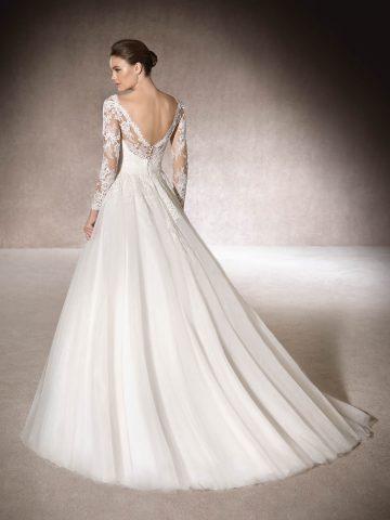 rochie de mireasa a line printesa pronovias san patrick muth_b-1 5
