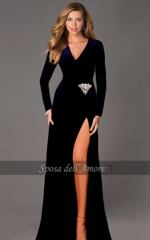velvet-dress-navy-sposa-a1258-copy
