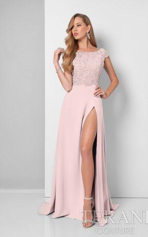 rochie de seara terani 1711m3366_blush_nude_front_1