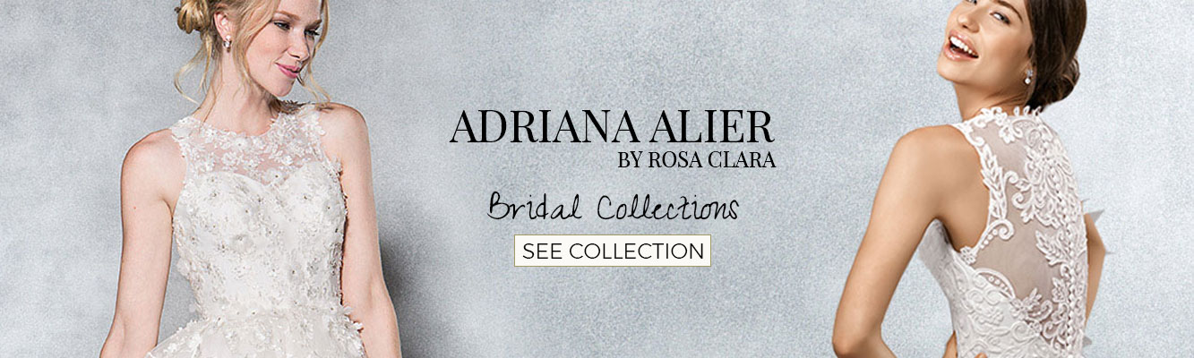 Rochii de mireasa Adriana Alier by Rosa Clara