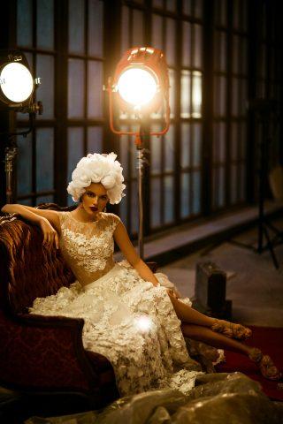 rochie de mireasa a lina flori 3 d dantela sposa dell amore 2018 3