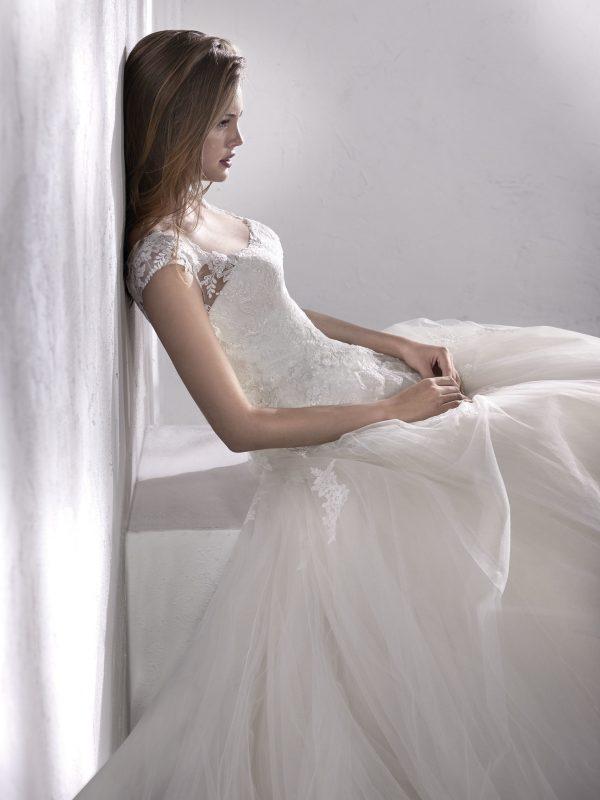 rochie de mireasa a line 2018 san patrick lileas_b 3