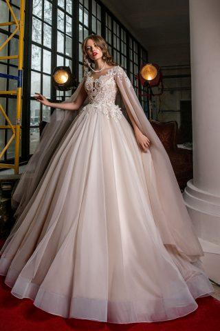 rochie de mireasa printesa tul pelerina sposa dell amore 2018