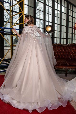 rochie de mireasa printesa tul pelerina sposa dell amore 2018 ingrid