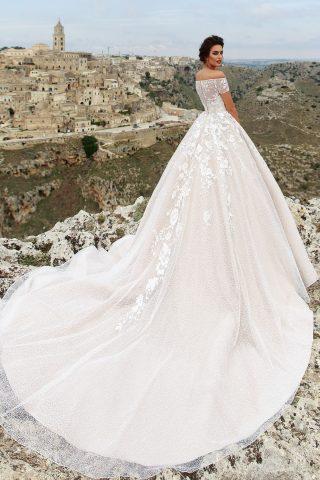 rochie de mireasa ADELISA 2018 sposa dell amore printesa DANTELA 2