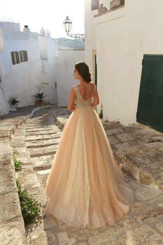 rochie de mireasa PRINTESA 2018 dantela HANRIETTE sposa 3