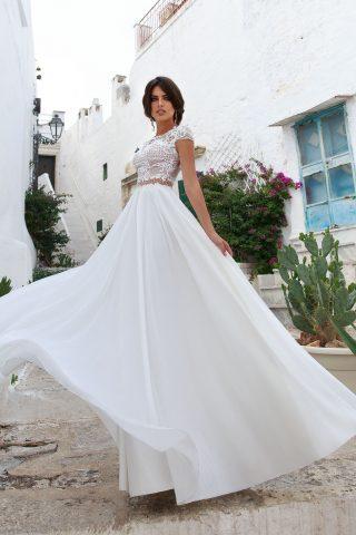 rochie de mireasa empire sposa riana 2018