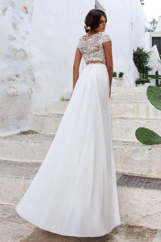 rochie de mireasa empire sposa riana 2018 5