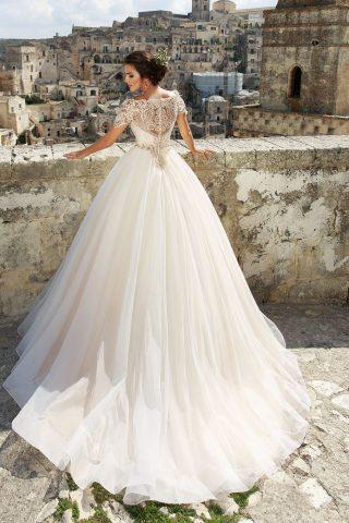 rochie de mireasa printesa bellance 2018 sposa dantela 2