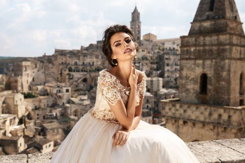 rochie de mireasa printesa bellance 2018 sposa dantela 3