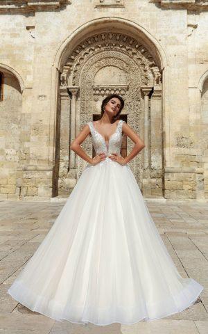 rochie de mireasa printesa nicolina sposa 2018