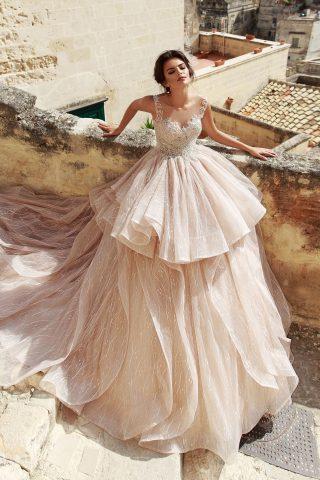 rochie de mireasa printesa raffaella sposa 2018 7