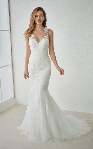 rochie de mireasa sirena dantela san patrick 2018 sposa dell amore bucuresti felcia_b