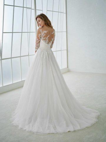 rochie de mireasa A line dantela feria_b sposa dell amore bucuresti san patrick pronovias 2