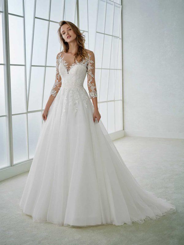 rochie de mireasa A line dantela feria_b sposa dell amore bucuresti san patrick pronovias