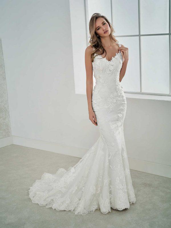 rochie de mireasa flori 3d faleia_b