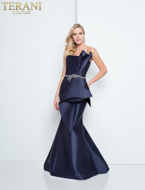 1811e6116_navy_back rochie de seara eleganta bleomarin mama miresei rochie de bal 5