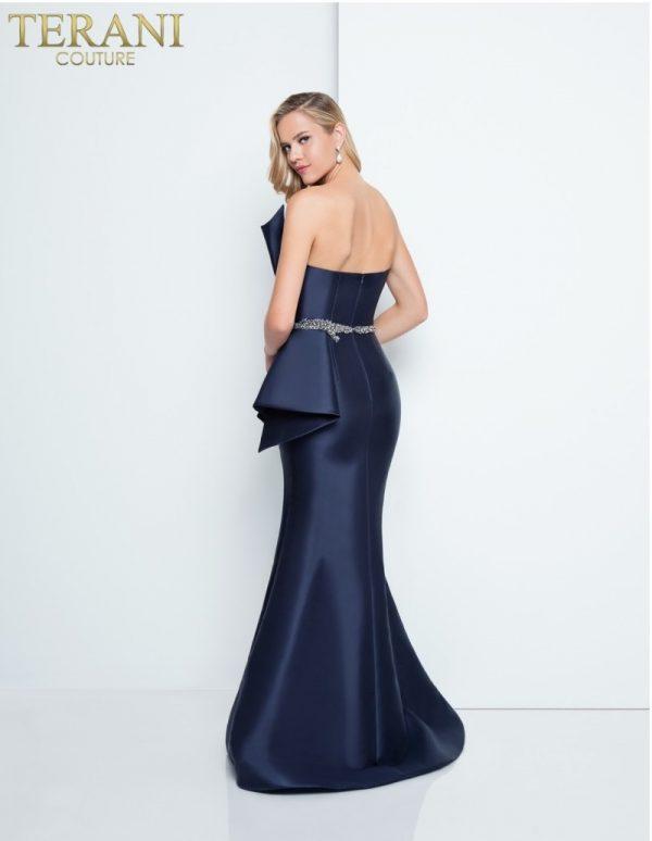1811e6116_navy_back rochie de seara eleganta bleomarin mama miresei rochie de bal