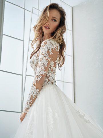 fergie_d rochie de mireasa printesa san patrick white one pronovias 2018