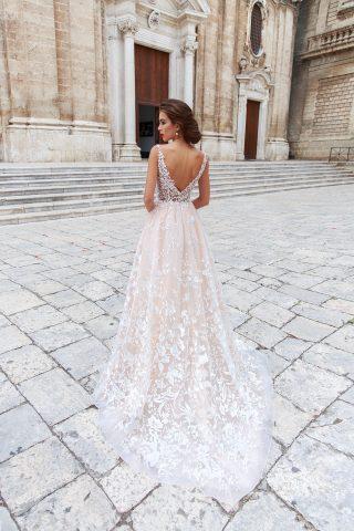 rochie de mireasa A line Adona 2018 sposa dell amore 6