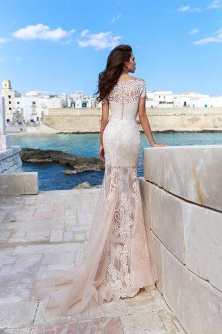 rochie de mireasa dantela sirena cara sposa dell amore 2018 5