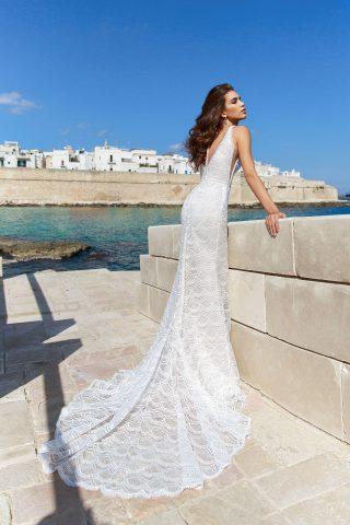 rochie de mireasa sirena elda dantela solzisori sposa dell amore 5