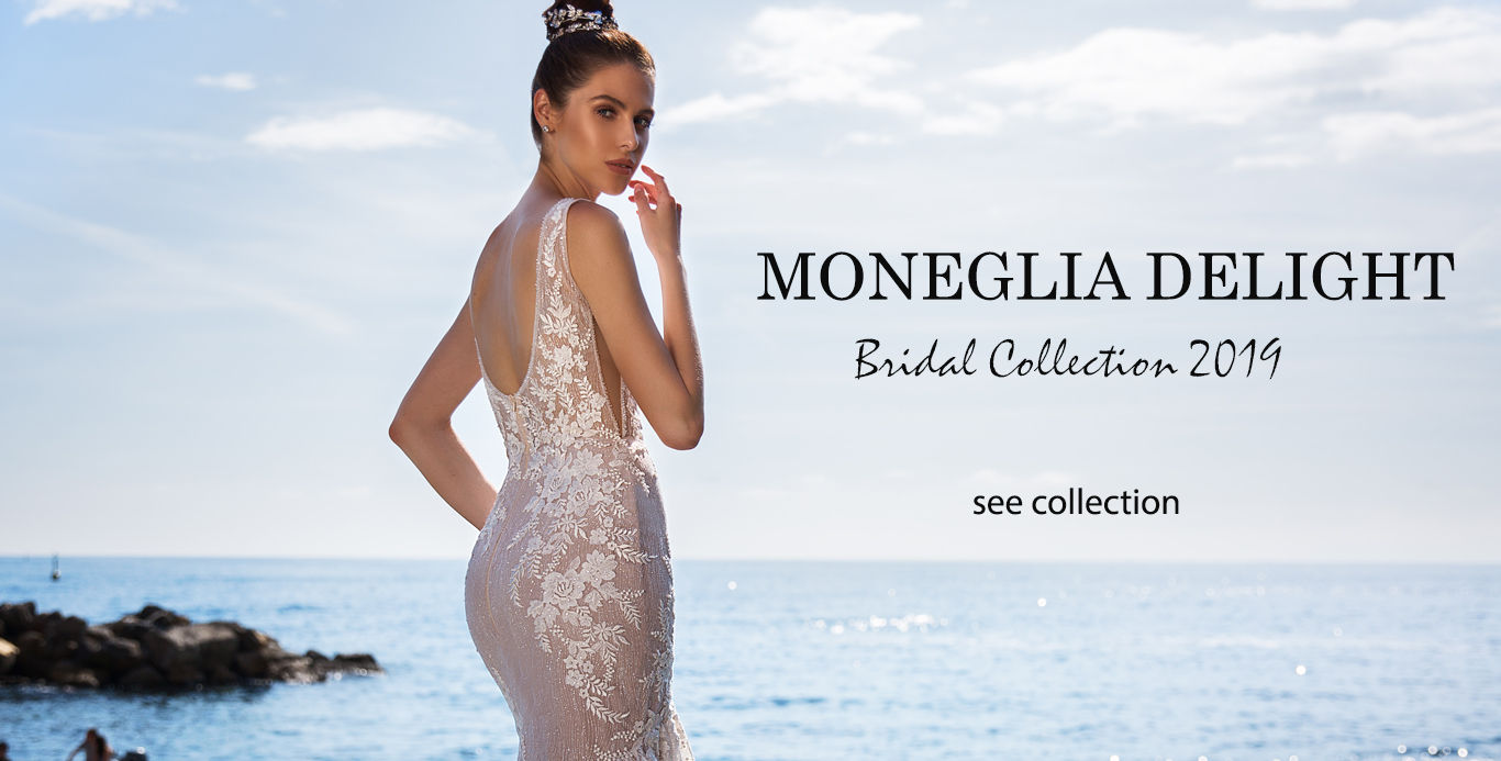 Rochii de mireasa moneglia delight colectia 2019