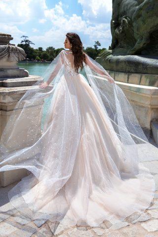 rochie de mireasa printesa perle romantica moderna amaris 2019 2