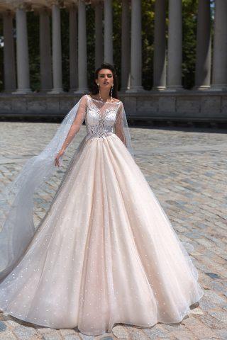 rochie de mireasa printesa perle romantica moderna amaris 2019