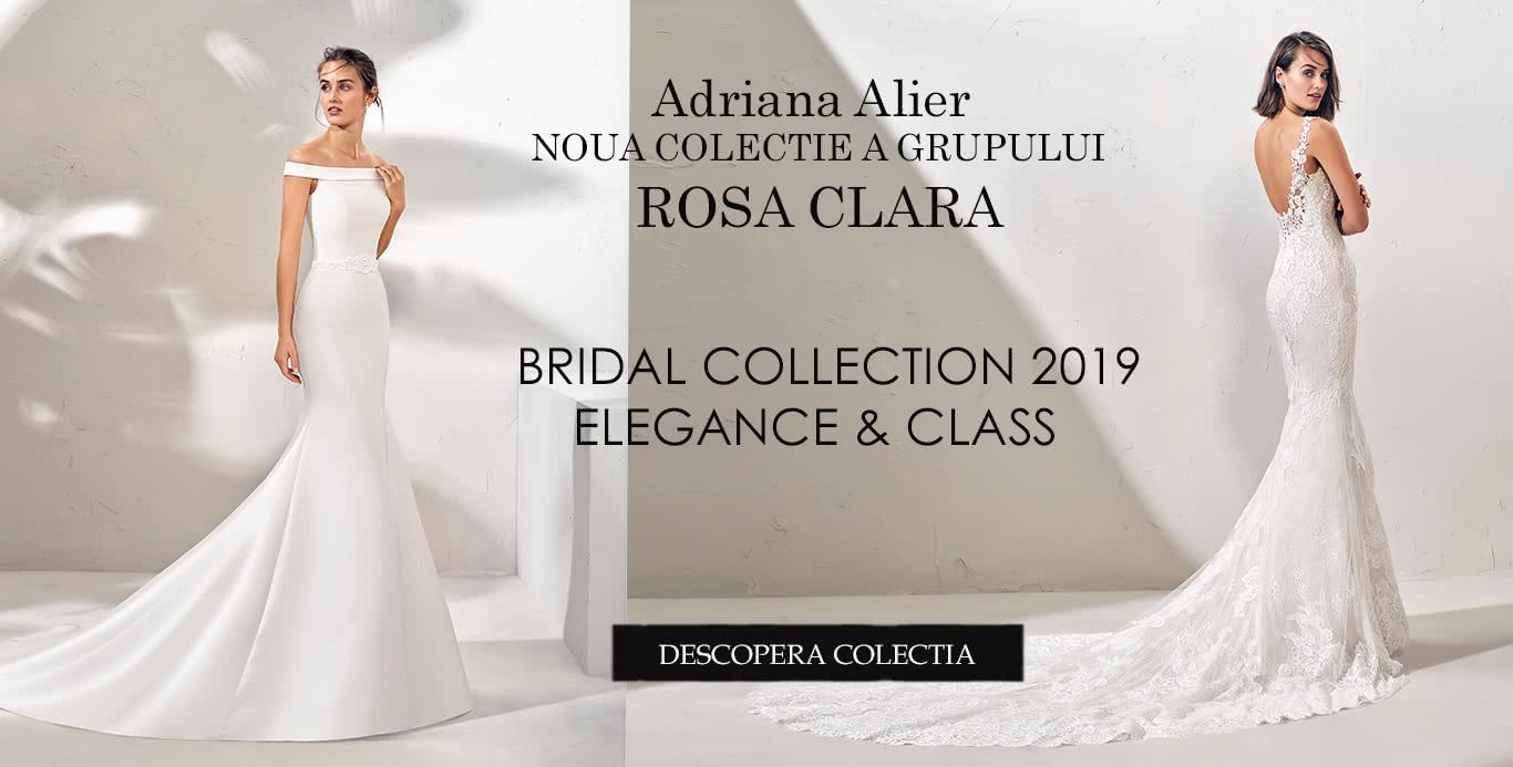 Rochii de mireasa ADRIANA ALIER 2019- LA ADRIANA ALIER