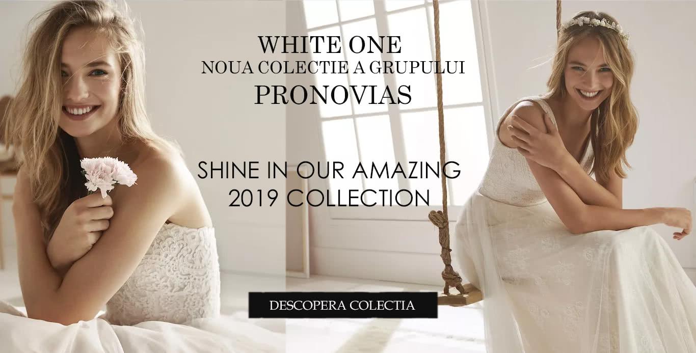 Rochii de mireasa WHITE ONE 2019 -  LA WHITE ONE