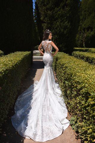 369A4766 rochie de mireasa sirena estafania 2019 dantela 8