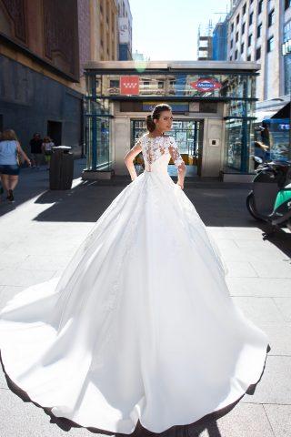 369A5264 rochie de mireasa printesa veta tafta dantela 3d 2019 69