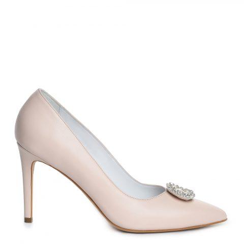 Pantof mireasa roz