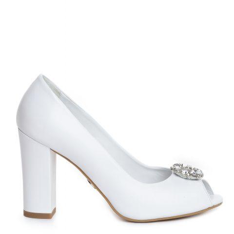 Pantof mireasa albi