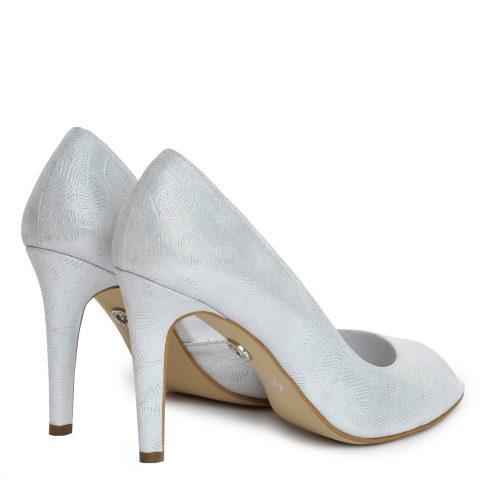 Pantofi mireasa albi ivory