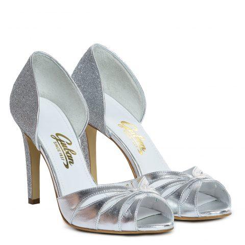 Sandale mireasa albi ivory