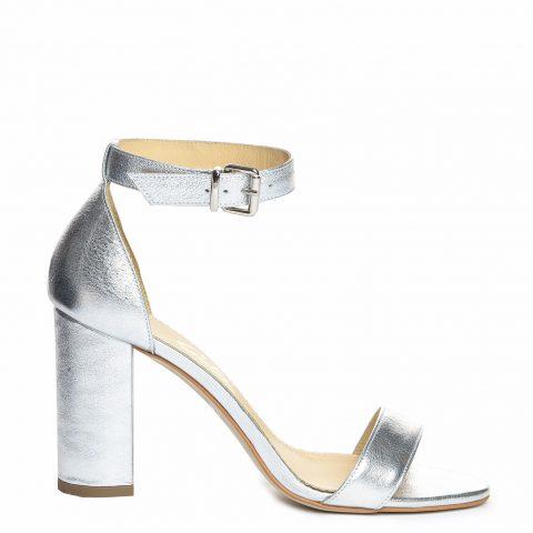 Sandale mireasa arginti