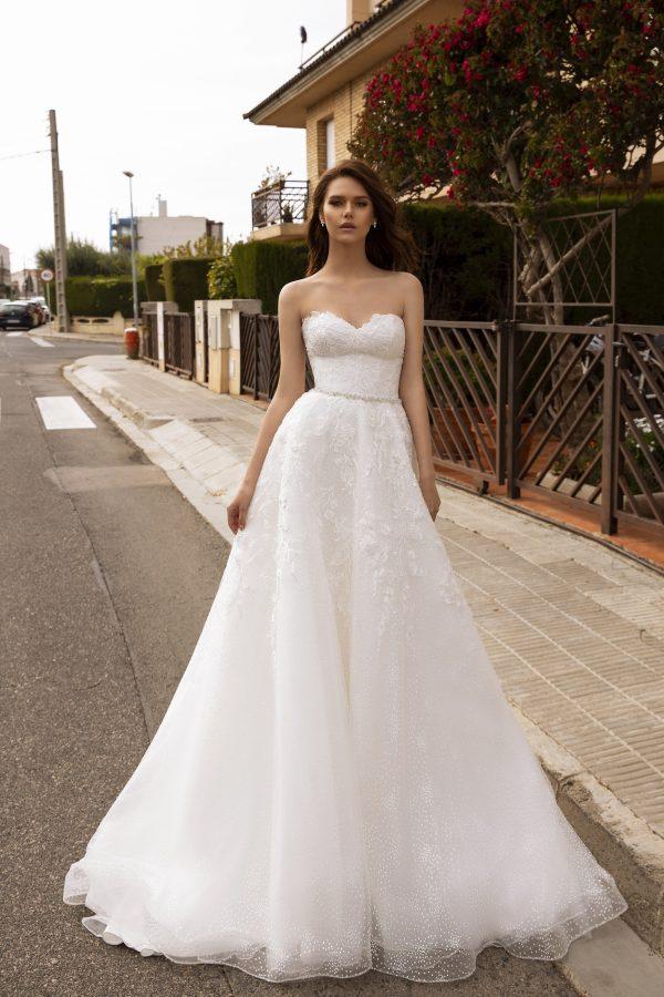 rochie de mireasa a line 2020 wedding-dress-presley