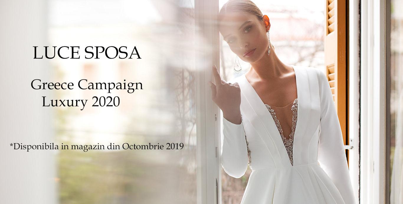 Rochii de mireasa Luce Sposa Greece Campaign