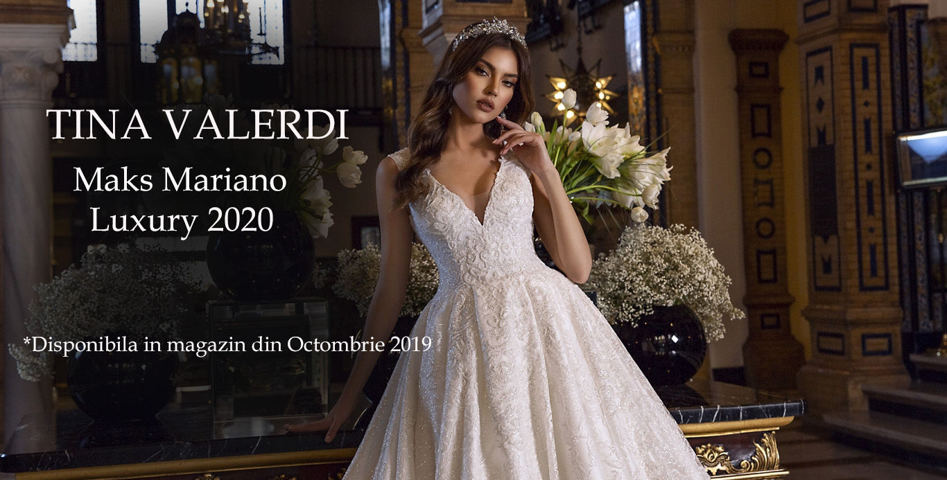 Rochii de mireasa Tina Valerdi Marks Mariano 2020