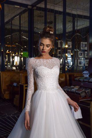 rochie de mireasa printesa hillarii p
