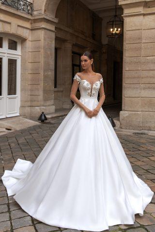 IMG_8047 rochie de mireasa tafta bucuresti printesa 2021 sylvie