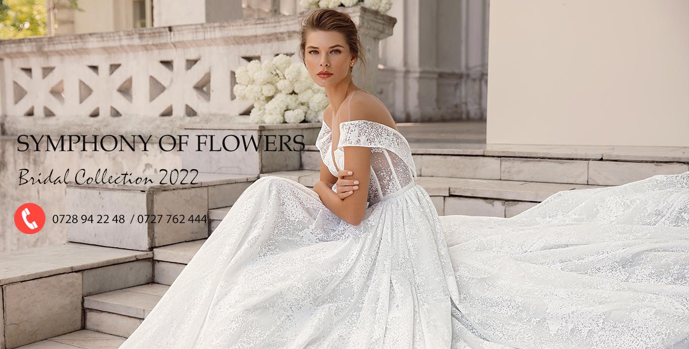 Rochii de mireasa Symphony Flowers