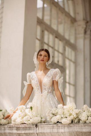 6 rochie de mireasa a line glitter luce sposa superba 2022 bucuresti